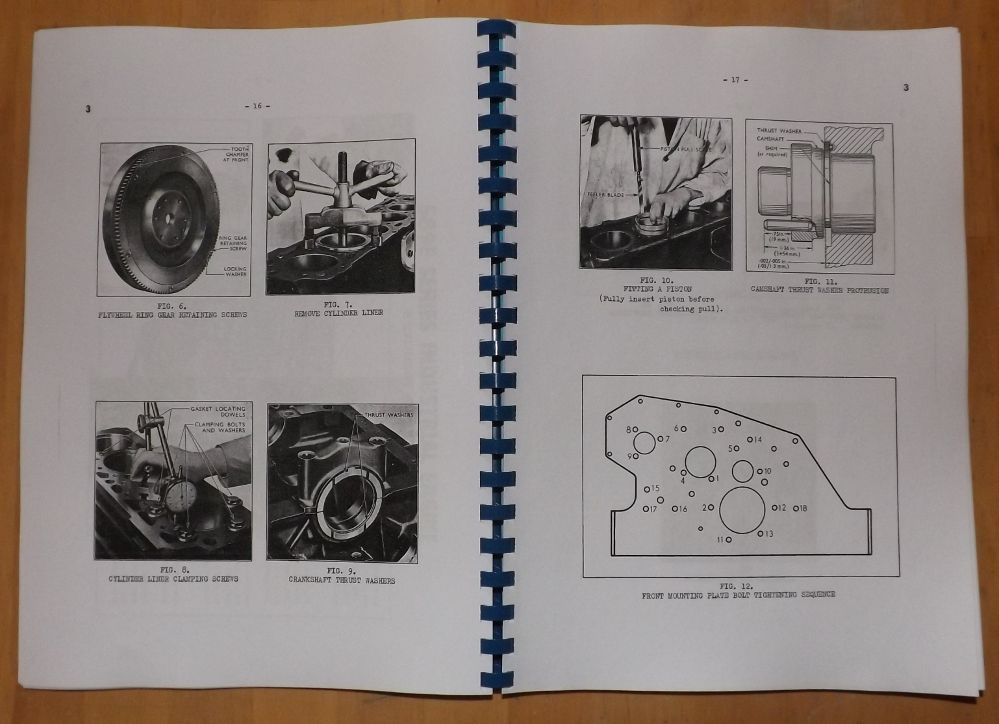 ford industrial engine service manual 589e 590e 591e and 592e basic diesel engine diagram
